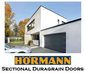 Hormann Sectional Duragrain Garage Doors